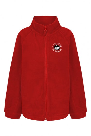 Sandon Red Fleece