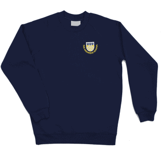 Navy Sweatshirt for The Highfeild School Letchworth