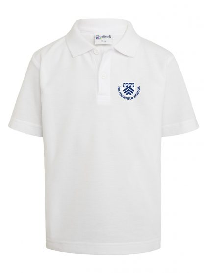 White Uniform Polo Shirt for The Highfield School Letchworth