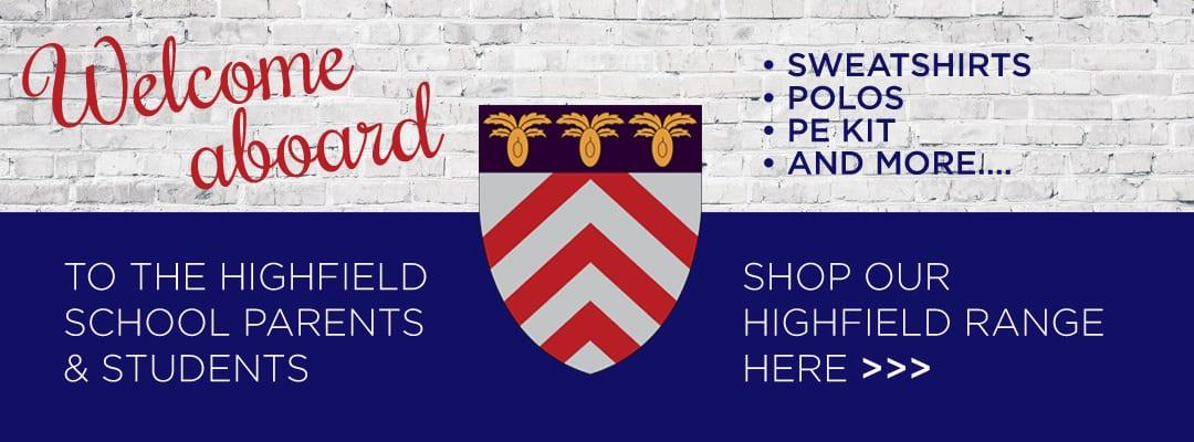 School Uniform for The Highfield School