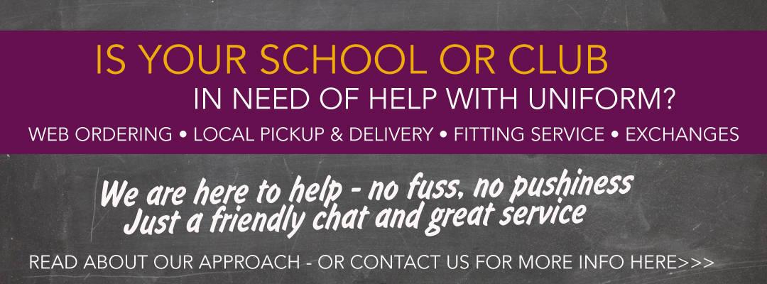 Suppliers of School & Club Uniforms