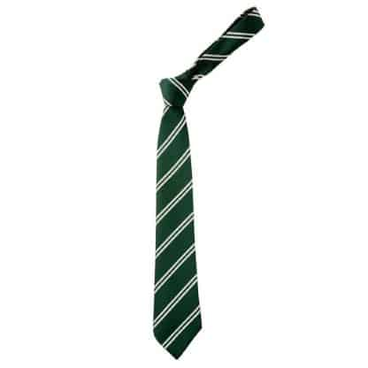 Green & White Fearnhill Tie - Pearsall House