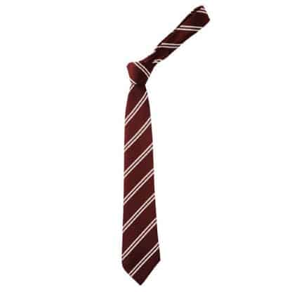 Red & White Fearnhill Tie - Neville House