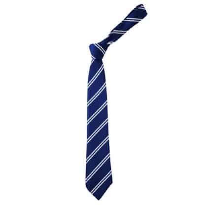 Royal Blue & White Fearnhill Tie - Howard House