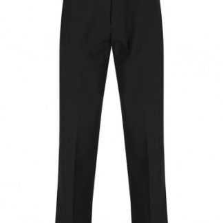 Tailored black school trousers