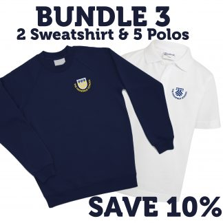 School Uniform for Highfield School. Bundle of Sweatshirts & Polos
