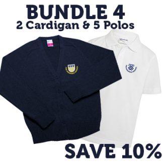 The Highfield School Letchworth Cardigan & Polo Uniform Pack