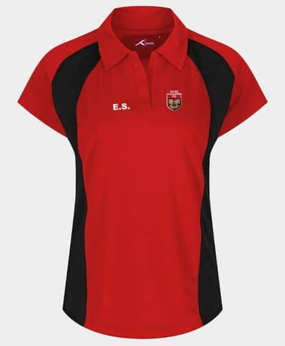 Fitted style PE polo for GCSE/A-Level course at KTS, Baldock