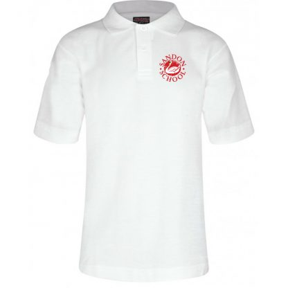 White Sandon School Polo Shirt