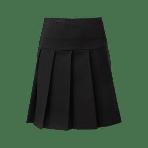 Pleated Skirt – with Drop Waist