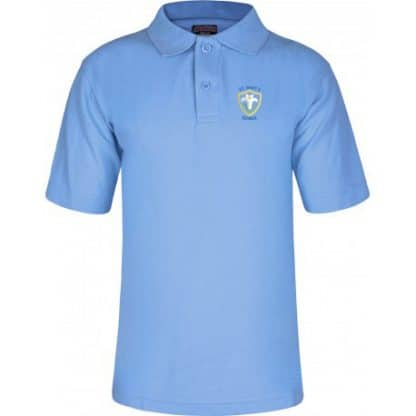 Uniform polo for St Mary's School Baldock