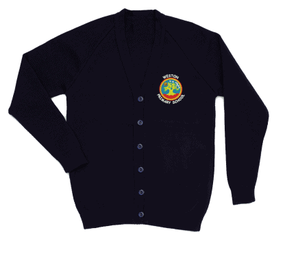Cardigan for Weston School