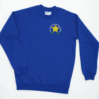 School uniform sweatshirt for Northfields, Letchworth