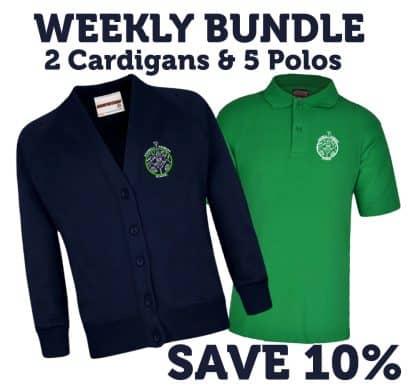 Weekly cardigan bundle for Ashwell School