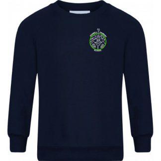 Embroidered Crew Neck Ashwell Sweatshirt