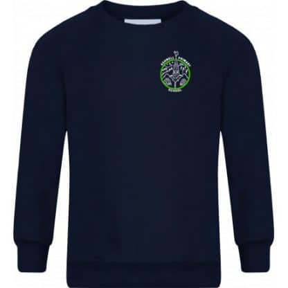 Embroidered Crew Neck Ashwell Sweatshirt