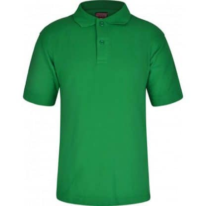 Emerald polo shirt, plain version for Ashwell