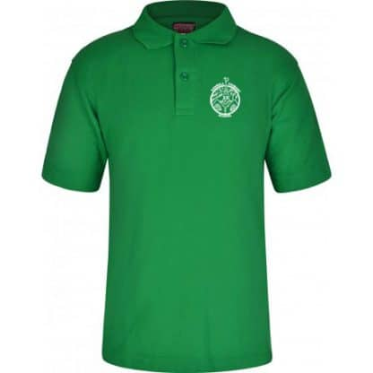 Emerald Green Polo Shirt for Ashwell Primary School