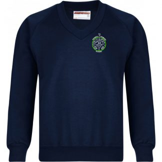 V Neck Sweatshirt for Ashwell Primary School