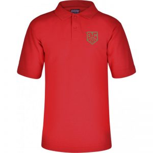 St. Thomas More Embroidered Polo Shirt