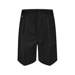 School Shorts – Black