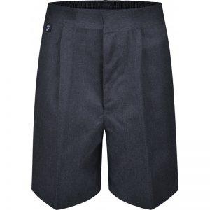 School Shorts – Grey
