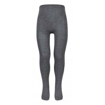 Grey cotton tights for school uniform