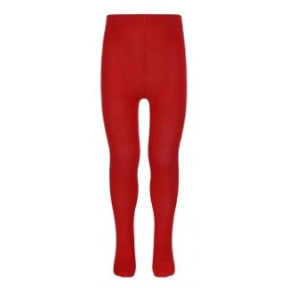 School uniform red tights
