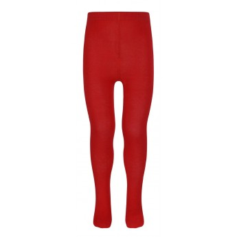 School uniform red tights