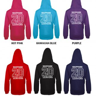 Leavers Hoodie Colours