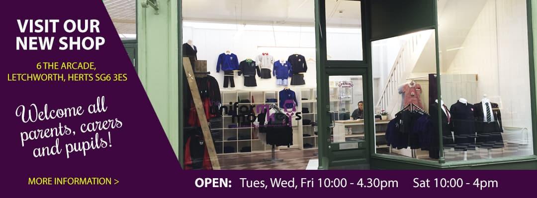 School Uniform Shop - Letchworth