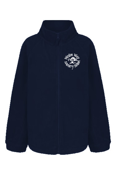 Navy Blue Fleece for Weston Way Nursery School, Baldock