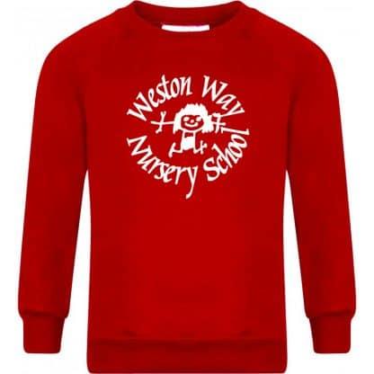 Red Sweatshirt - Weston Way, Baldock