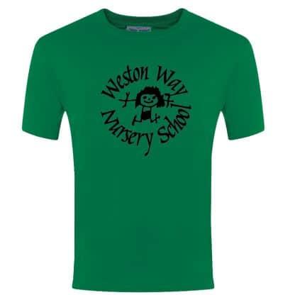 Emerald Green Weston Way T-Shirt