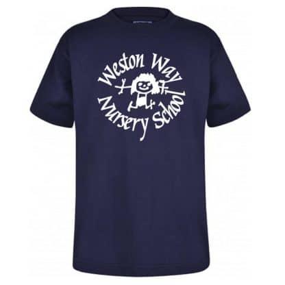 Weston Way Navy T-Shirt