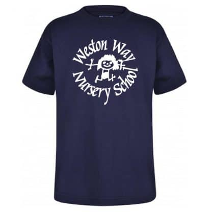Navy Blue Weston Way Nursery T-Shirt