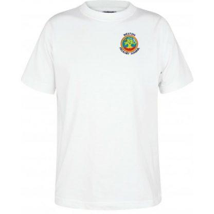 PE T Shirt for Weston Primary School