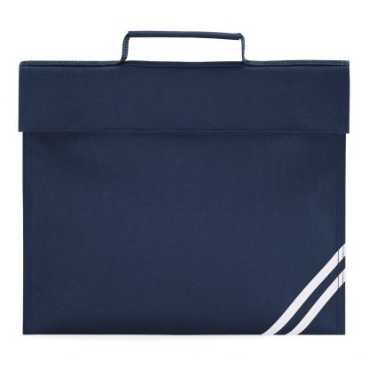 Navy Blue Book Bag