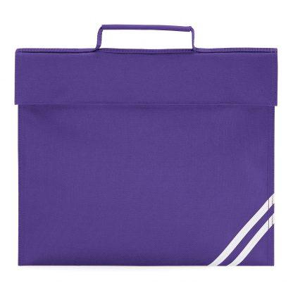 Purple School Book Bag