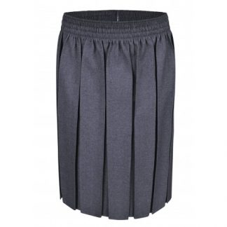 Grey School Uniform Skirt