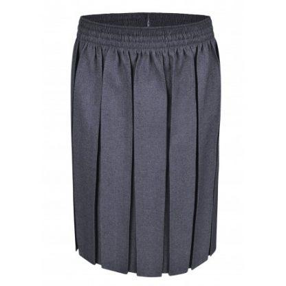 Grey School Uniform Skirt