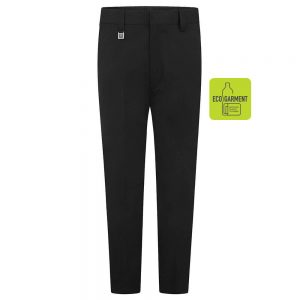 Boys Slim Fit Trousers – Black