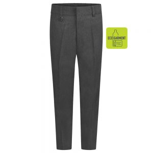 Boys Slim Fit Trousers – Grey