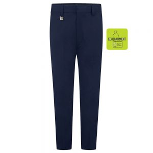 Boys Slim Fit Trousers – Navy