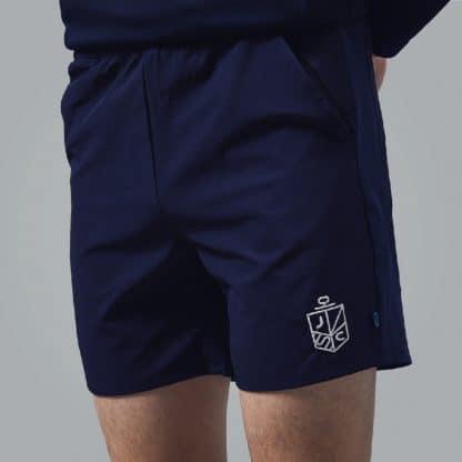 Navy Juco Shorts