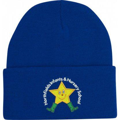 Royal blue northfields hat